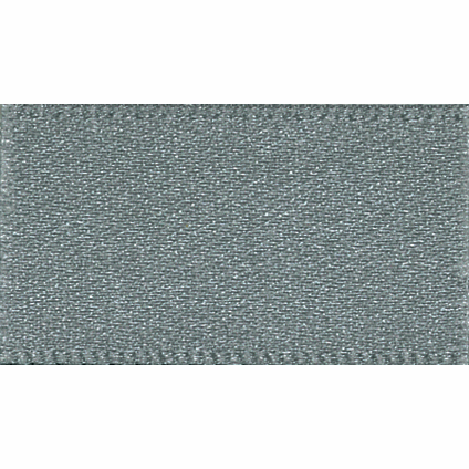 Ribbon Double Faced Satin 25mm Col 669 Smoke Grey