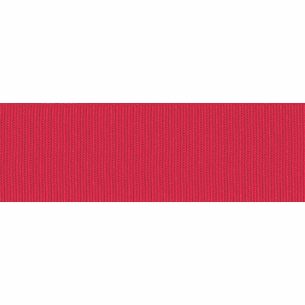 Ribbon Grosgrain 40mm Plain Col 9325 Red