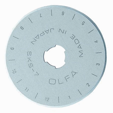 Rotary Cutter Spare Blade 45mm by Olfa