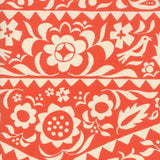 "Ruby Star Society ""Market Floral"" in Warm Red"