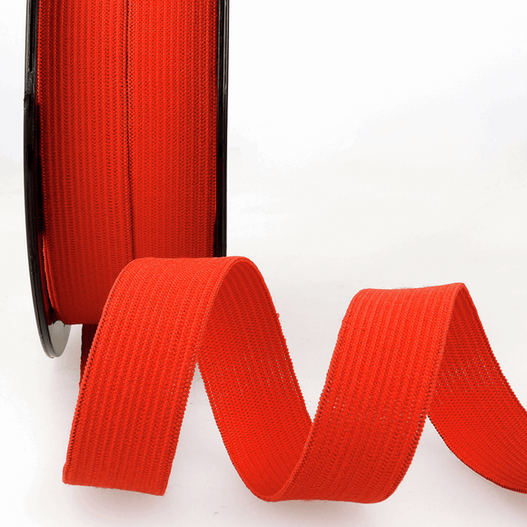 Elastic Ribbon 5mm Red