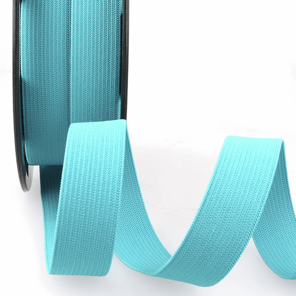Elastic Ribbon 5mm Steel Blue