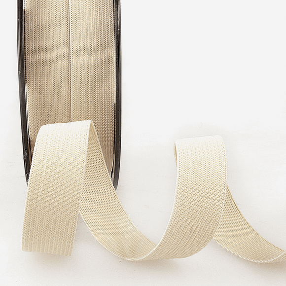 Elastic Ribbon 5mm Beige