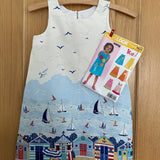 Sail Away by Makower Harbour 100% Cotton