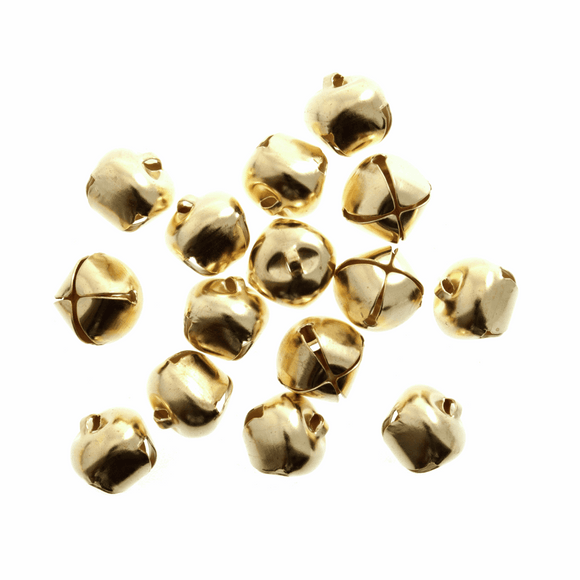 Bells Jingle 12mm Gold