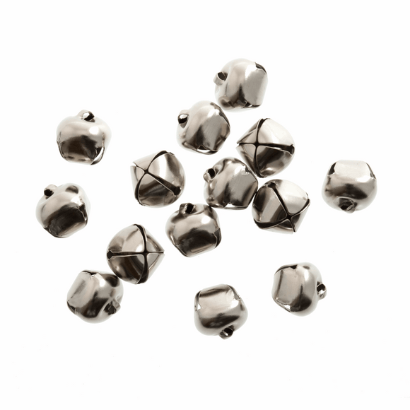 Bells Jingle 12mm Silver