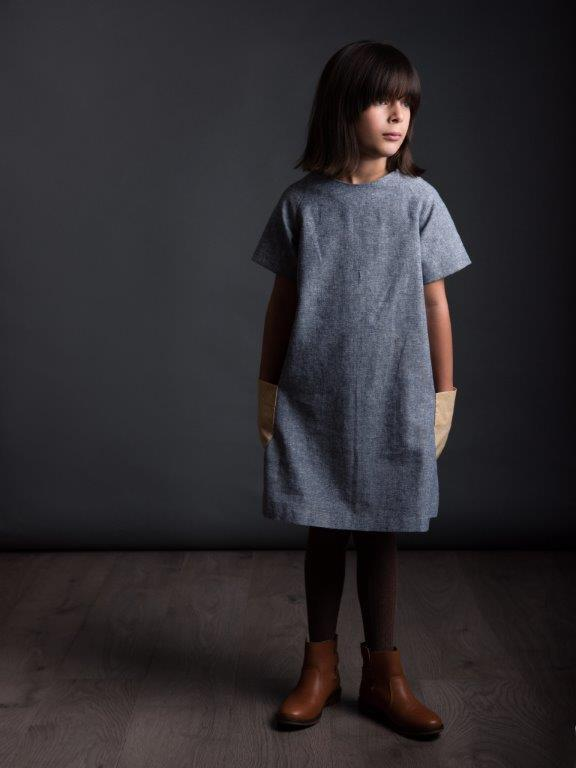The Raglan Dress (age 3-8 years) by The Avid Seamstress