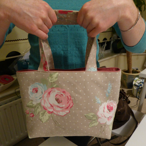Bag Making - Tote Bags for Presents Fri 13th December 10.30am - 1.30pm