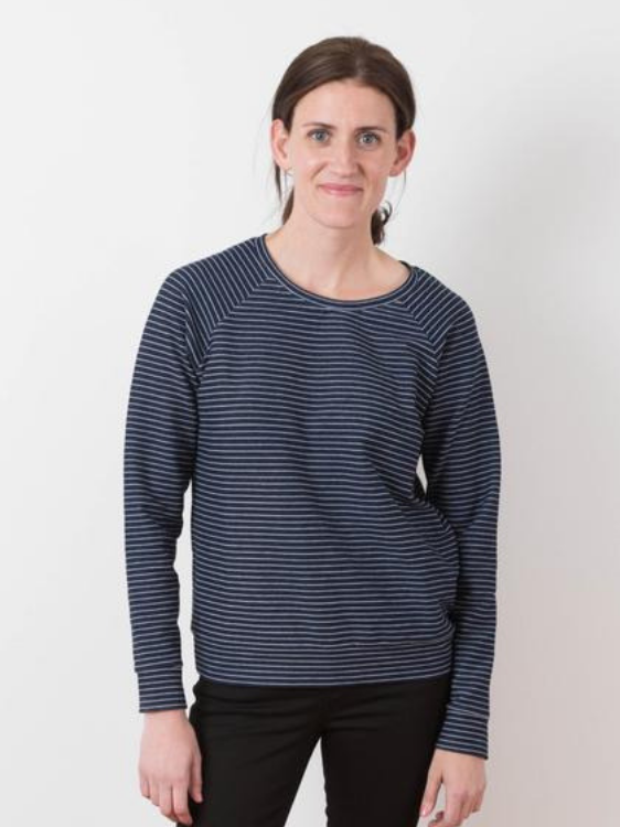 Linden Sweatshirt by Grainline Studio