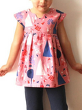 Geranium Dress and Top Pattern by Made by Rae (Newborn to 5 yrs)