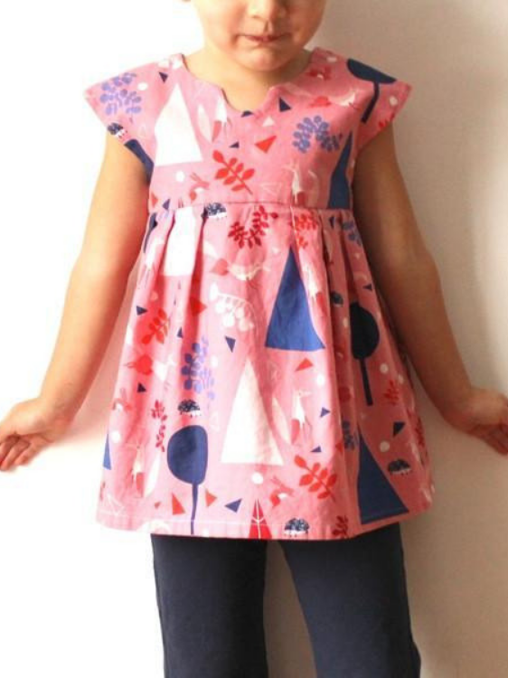 Geranium Dress and Top Pattern by Made by Rae (6 to 12 yrs)