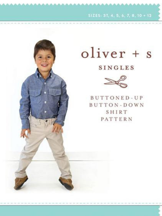 Buttoned-Up Button-Down Shirt by Oliver & S