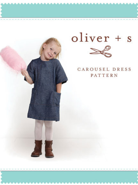 Carousel Dress Pattern by Oliver & S