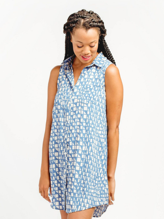 Alder Shirtdress by Grainline Studio