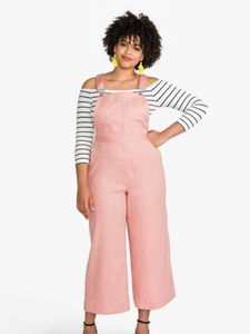 Jenny Overalls/Dungarees/Trousers by Closet Core Patterns
