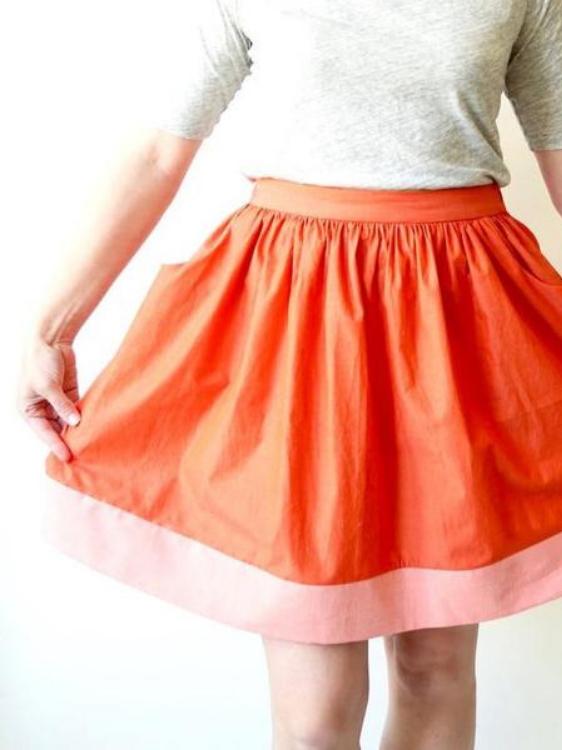 Cleo Skirt Pattern from Made By Rae