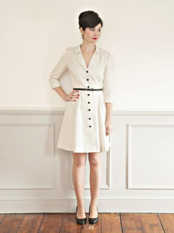 Vintage Shirt Dress Pattern by Sew Over It