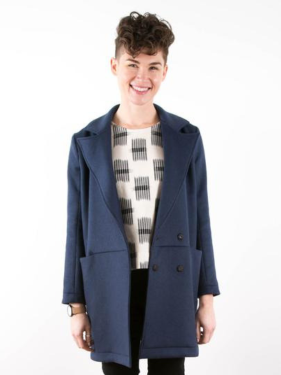 Yates Coat by Grainline Studio