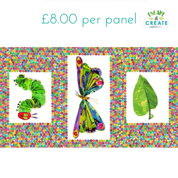 Panel Very Hungry Caterpillar by Makower (31)