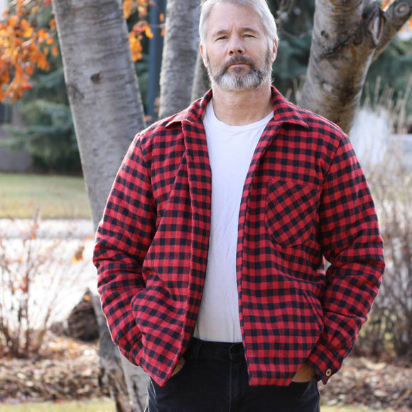 Mens Overshirt Jacket Pattern by Wardrobe by Me