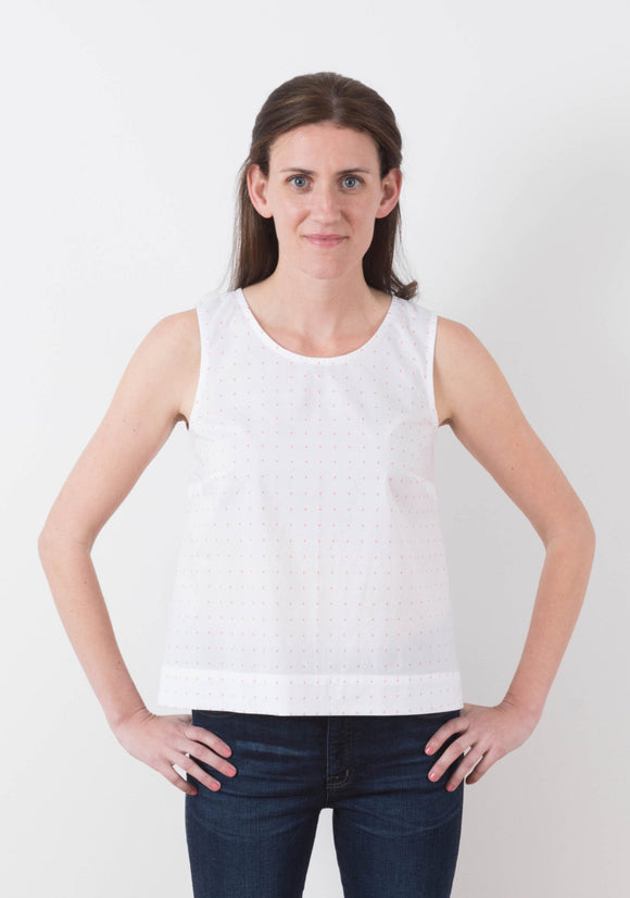 Willow Tank and Dress by Grainline Studio