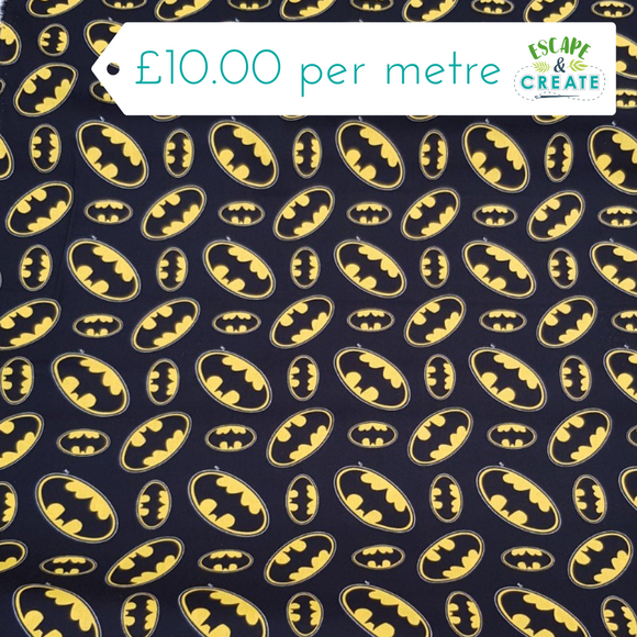 Batman Logo Licensed 100% Cotton