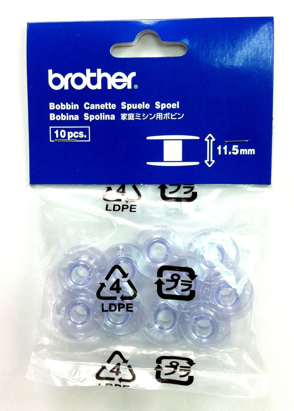 Bobbins for Brother Machines (pack of 10)