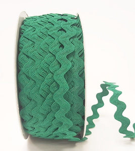 Ric Rac 13mm in Emerald