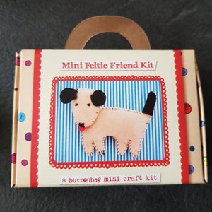 Buttonbag Mini Felt Kit - Doggie
