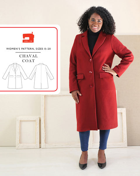 Chaval Coat Pattern by Liesl & Co