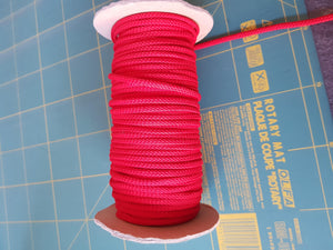 Drawstring Cord 5mm Red