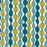On The Chopping Block Shallot in Teal by Michael Miller