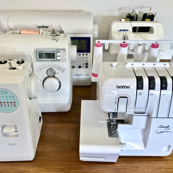 Sewing Machine Demo Day Monday 2nd December 11am - 1pm