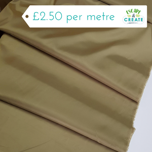 Dress Lining Plain in Khaki
