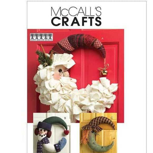 McCalls M5205 - Crescent Moon Wreaths