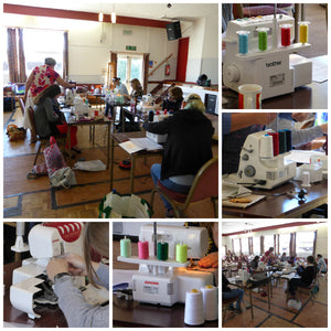Overlocker Workshops with Escape & Create in St Ives, Cambridgeshire