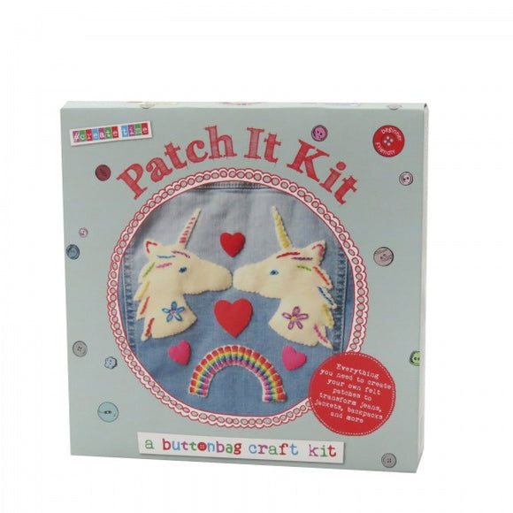 Button Bag Sewing Kit - Patch it