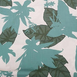 Viscose Large Floral in Green