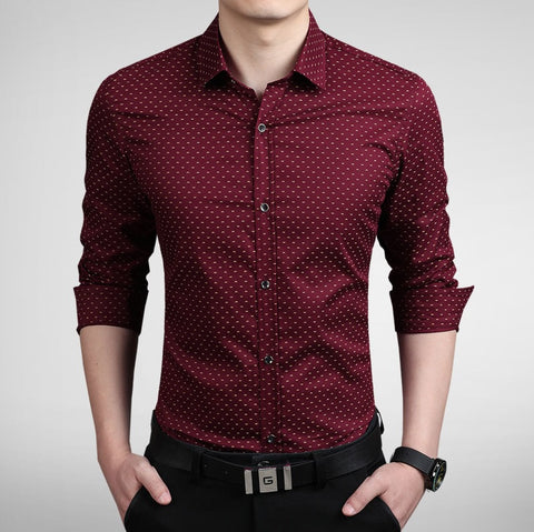 Classic Austere Fitted Shirt