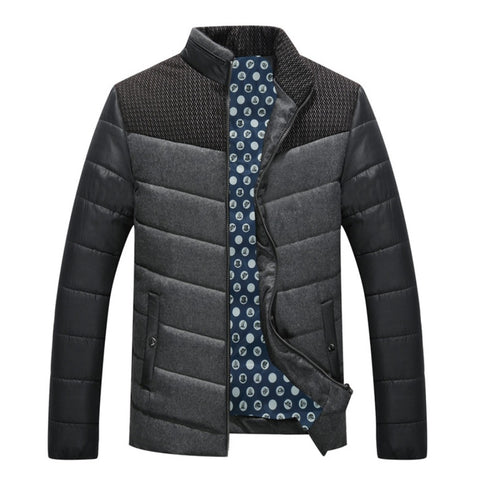 QUILTED WINTER BOMBER JACKET