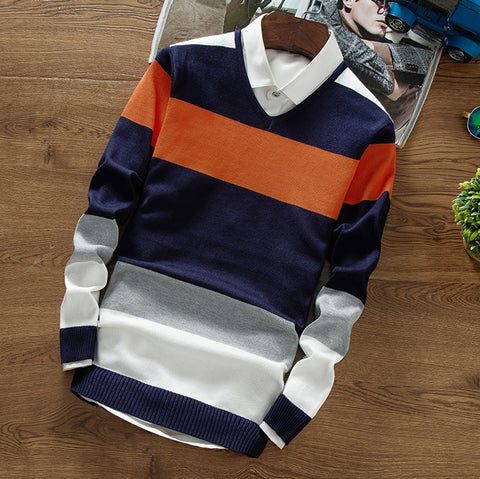 Finale Illusion Striped Sweater