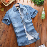 Bahamas Holiday Denim Shirt