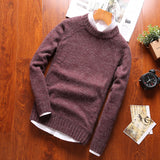 Classic Solid Colored Sweater