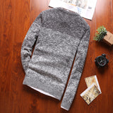 Two-Toned Graysky Sweater