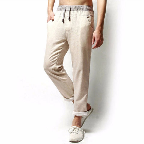 Free Breathing Linen Pants