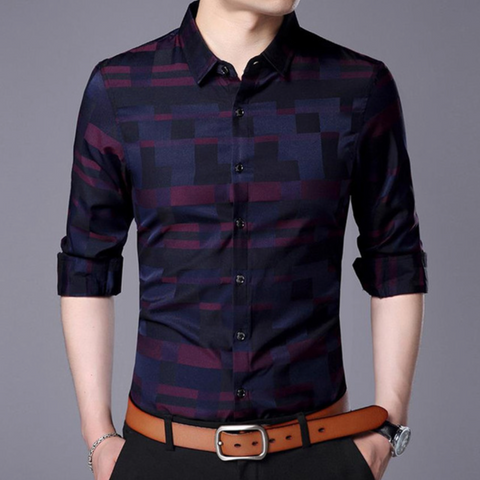 Estradex Glossy Casual Dress Shirt