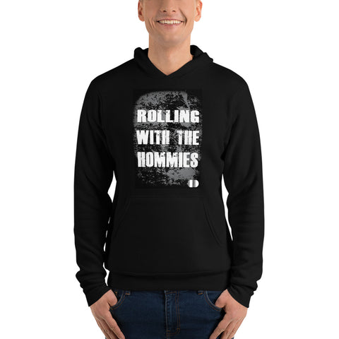Coded Limited Edition Quote Rolling With Hommies Unisex hoodie