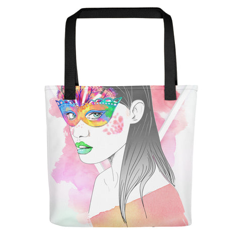 PopRee Limited Edition Not Like Others Pink v5 Tote bag