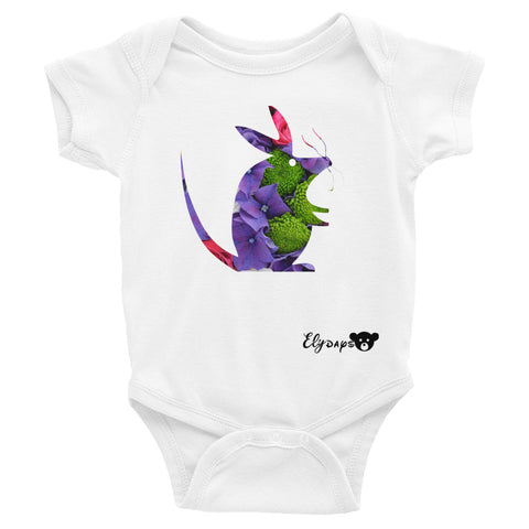 ElyDays Limited Designer Animal Edition  Mr M Infant Bodysuit