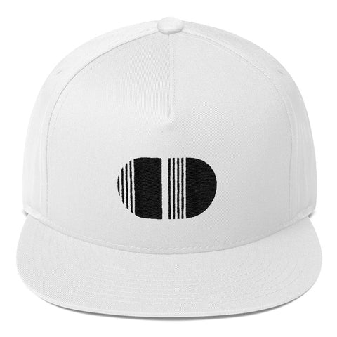 Coded Style Limited Edition White Flat Bill Cap